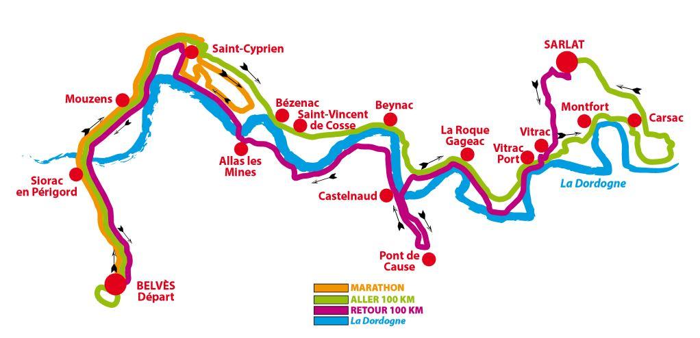 parcours-100-km-marathon-Belves-en-Perigord-noir