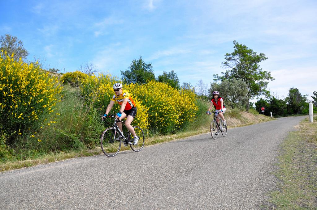 Cyclotourisme avantages et inconvrnients