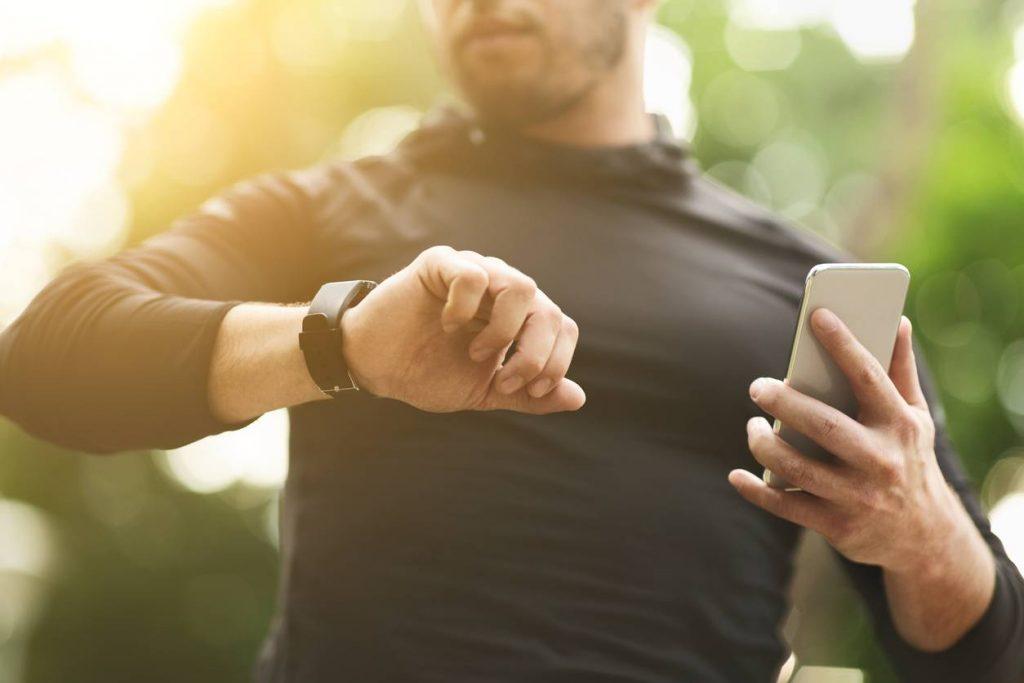 mesurer performances sportives montre connectée